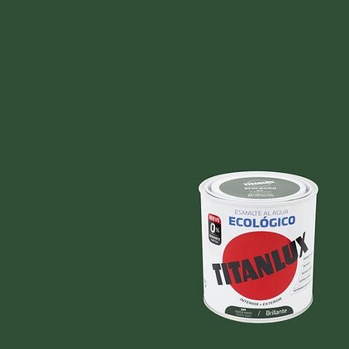 Esmalte de agua titanlux verde mayo brillante 250 ml