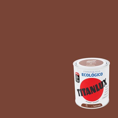 Esmalte de agua titanlux ocre satinado 250 ml