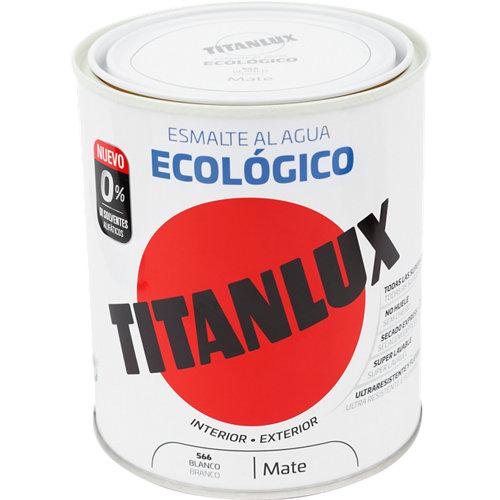 Esmalte de agua titanlux blanco mate 250 ml