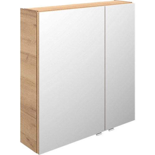 Armario de baño con espejo image roble 70 cm