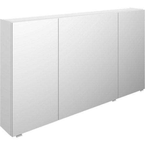 Armario de baño con espejo image blanco 130 cm
