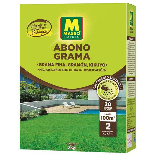 Abono para grama ecológico massó 2 kg