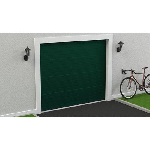 Puerta garaje seccional motorizada ral 6005 250x212,5