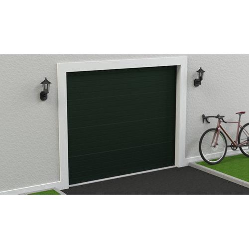 Puerta garaje seccional motorizada ral 6009 250x212,5
