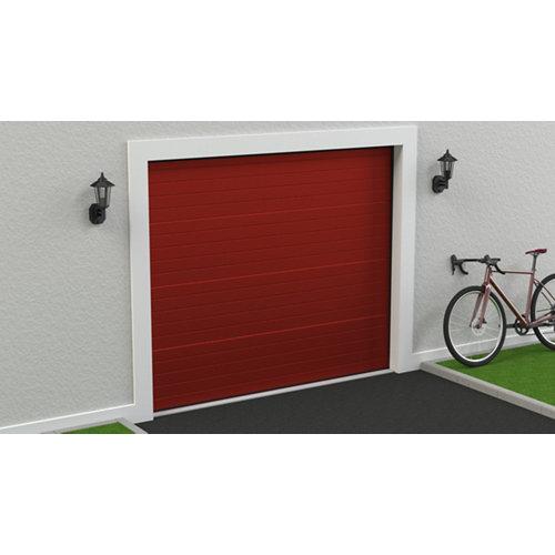 Puerta garaje seccional motorizada ral 3000 250x212,5
