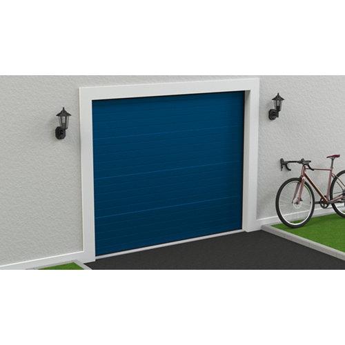 Puerta garaje seccional motorizada ral 5010 250x212,5