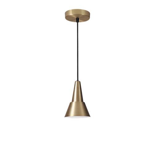 Lámpara de techo mazugi 1 luz latón inspire