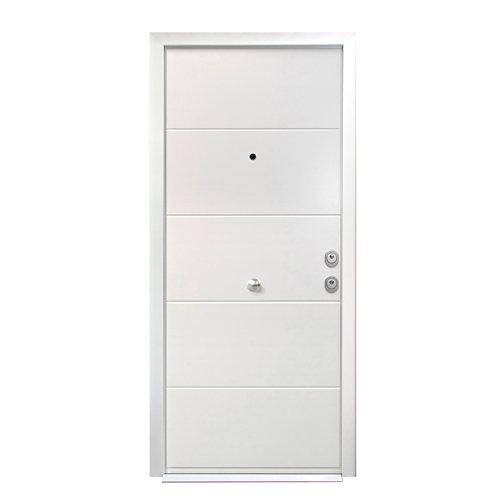 Puerta de entrada acorazada lucerna izquierda de 89x206cm