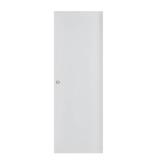 Puerta corredera ciega bari plus blanca con uñero 62,5 cm