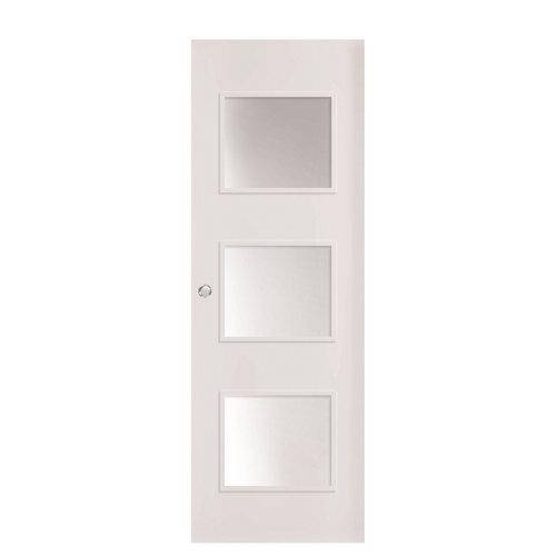 Puerta corredera con cristal bari plus con uñero 82,5 cm