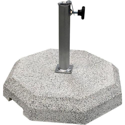 Pie de parasol octogonal de granito 37 kg