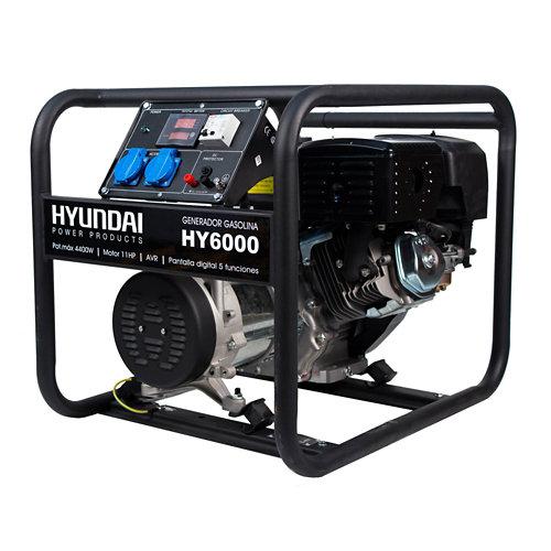 Generador hyundai gasolina de 4000 w