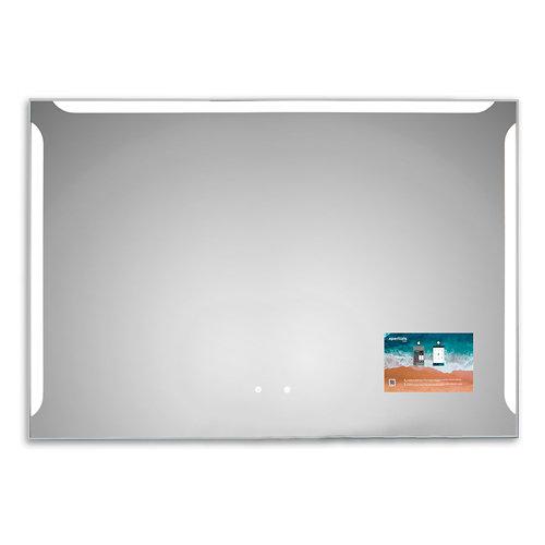 Espejo de baño con luz led alice 120 x 80 cm