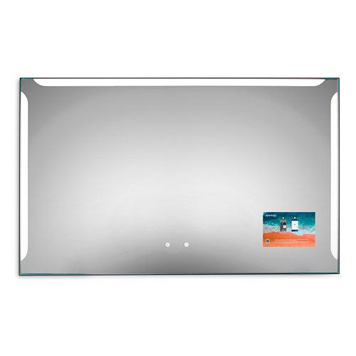 Espejo de baño con luz led alice 140 x 80 cm