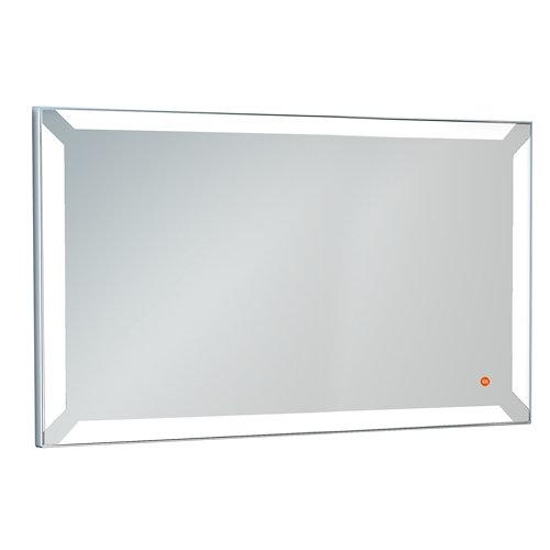 Espejo de baño con luz led einar acero 140 x 80 cm