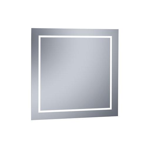 Espejo de baño con luz led erika 80 x 80 cm