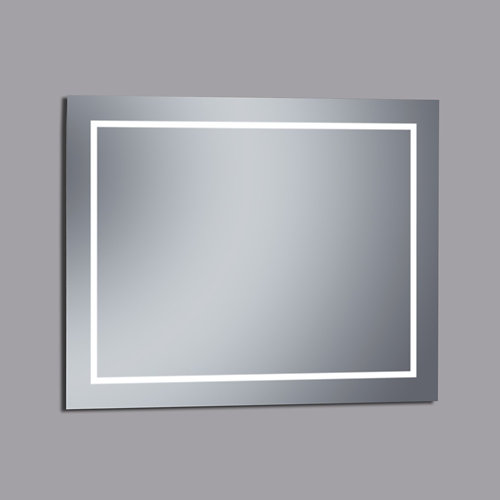 Espejo de baño con luz led erika 100 x 80 cm