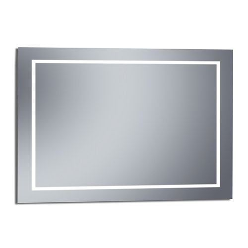 Espejo de baño con luz led erika 120 x 80 cm