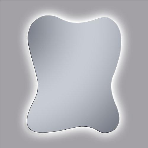 Espejo de baño con luz led axel 100 x 80 cm