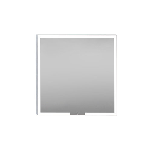 Espejo de baño con luz led carla biled 80 x 80 cm