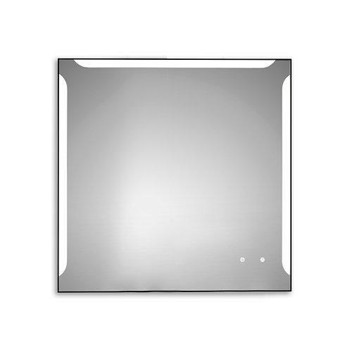 Espejo de baño con luz led alice 90 x 90 cm