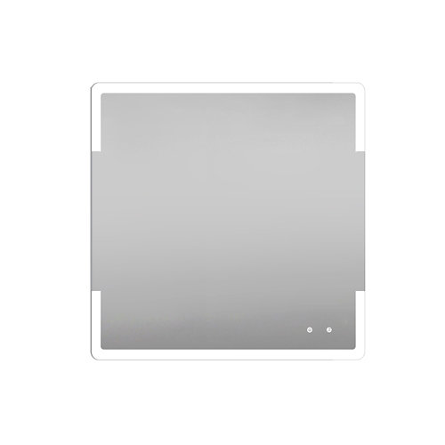 Espejo de baño con luz led marte 80 x 80 cm