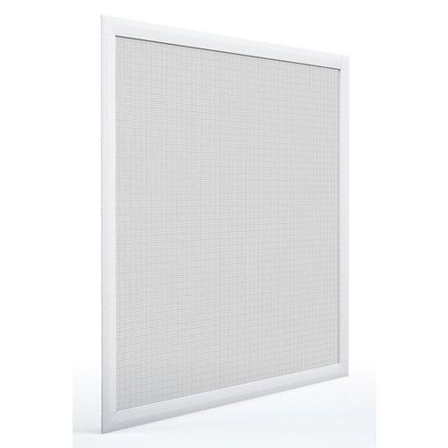 Mosquitera ventana corredera de color blanco de 70x130 cm (ancho x alto)