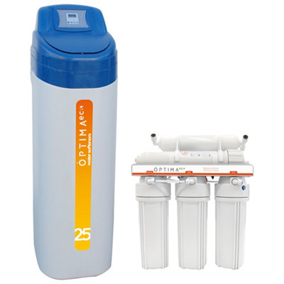 Kit descalcificador 25L+ equipo de osmosis OPTIMA ECO