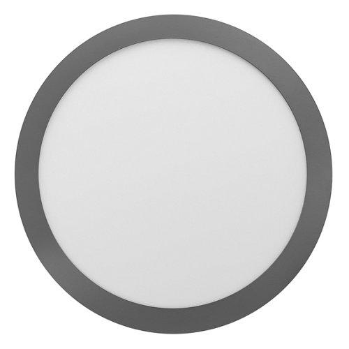 Foco downlight empotrado redondo cromado 30w 4000k 3300 lmnuva