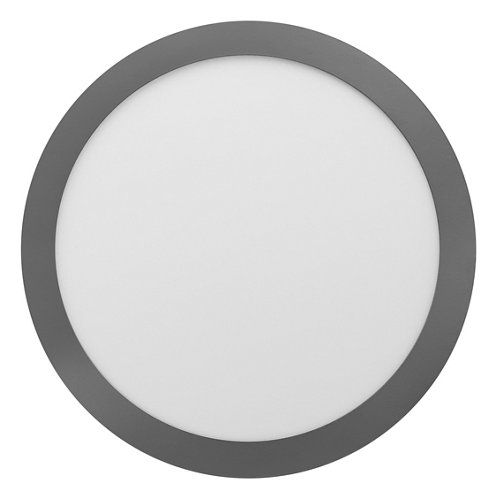 Foco downlight empotrado redondo cromado 18w 5700k nuva