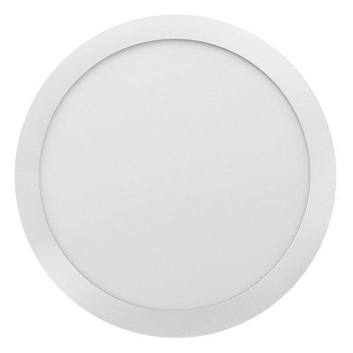 Foco downlight empotrado redondo blanco 12w 4000k nuva