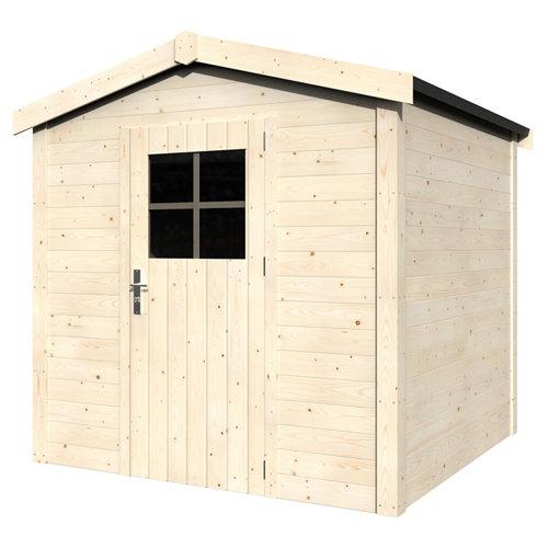 Caseta de madera bergar de 216x212x214 cm y 4.64 m2