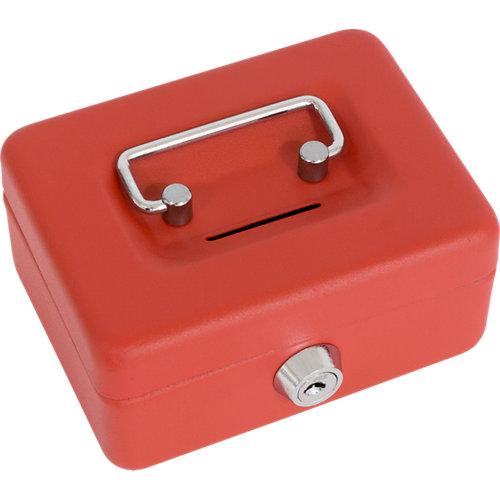 Caja caudales eleg rojo 125x95x60mm