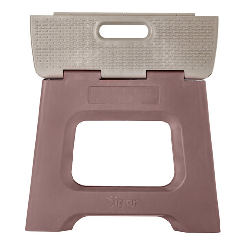 Taburete 27cm compact plegable terrazzo on top 3x33x37 cm