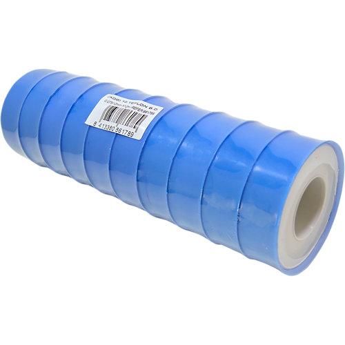 Pack 10 rollos cinta ptfe,largo 12 metros,ancho 12mm,bd 0,30 cm3-0,075