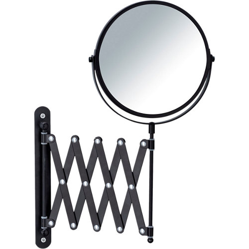 Espejo de aumento exclusiv extensible negro