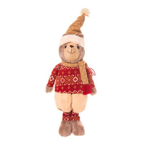 Figura navideña oso 43 cm