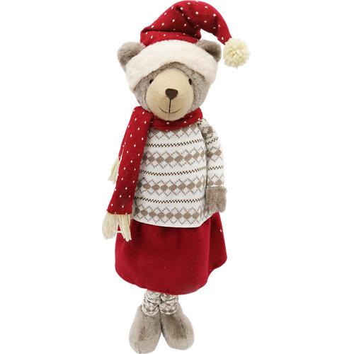 Figura navideña oso 68 cm