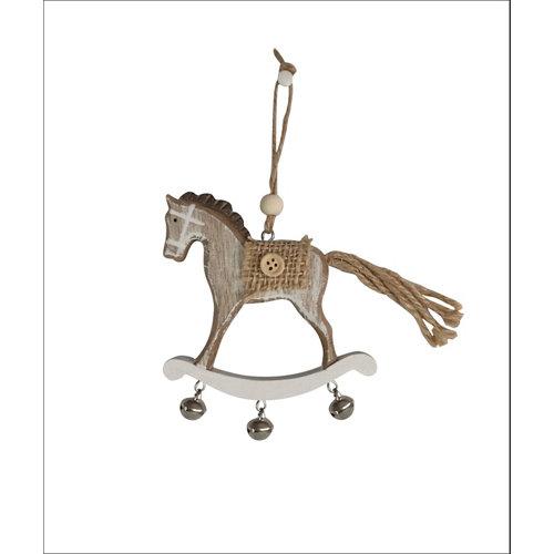 Adorno colgante caballo 8 cm