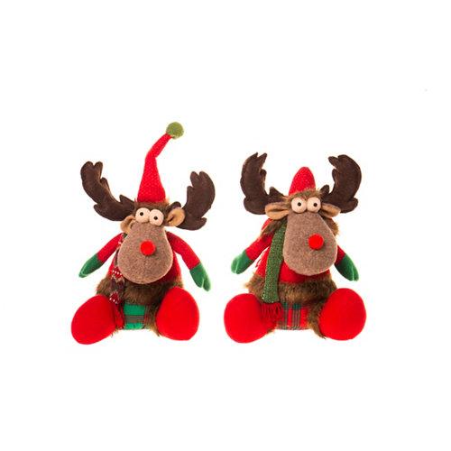 Figura navideña reno 35 cm