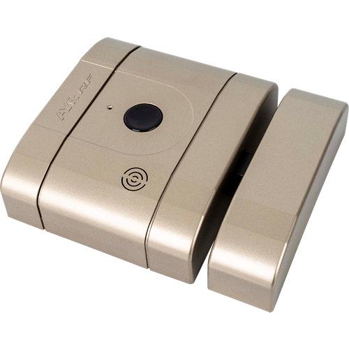 Cerradura invisible int lock rf níquel con mando a distancia