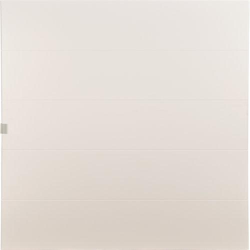 Puerta abatible para armario lucerna blanco 40x40x1,9 cm