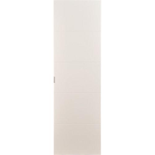 Puerta abatible para armario lucerna blanco 40x200x1,9 cm