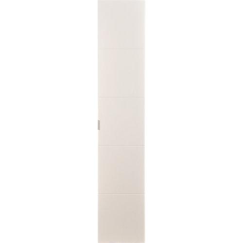 Puerta abatible para armario lucerna blanco 40x240x1,9 cm