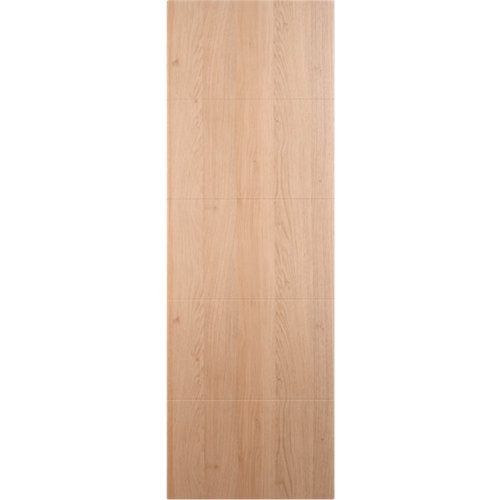 Puerta abatible para armario lucerna roble 40x100x1,9 cm