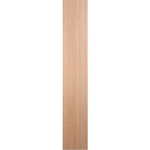 Puerta abatible para armario lucerna roble 40x200x1,9 cm