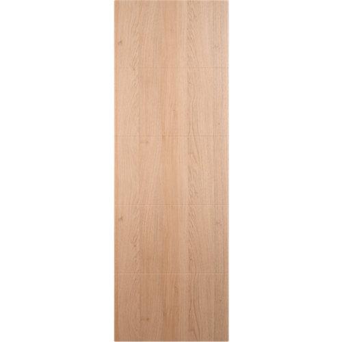 Puerta abatible para armario lucerna roble 60x200x1,9 cm
