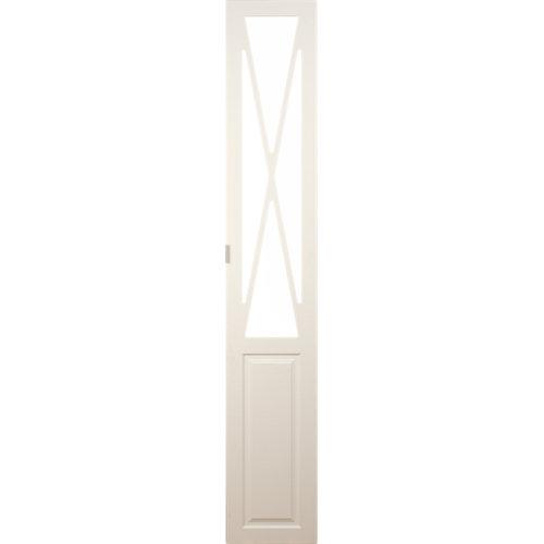 Puerta abatible para armario manila blanco 60x240x1,9 cm