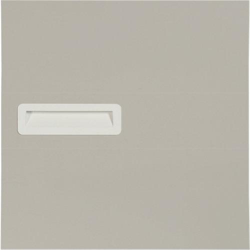 Puerta abatible para armario tokyo gris claro 40x40x1,6 cm