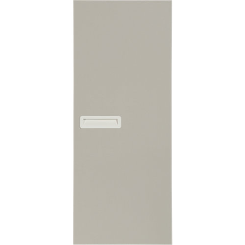 Puerta abatible para armario tokyo gris claro 40x100x1,6 cm